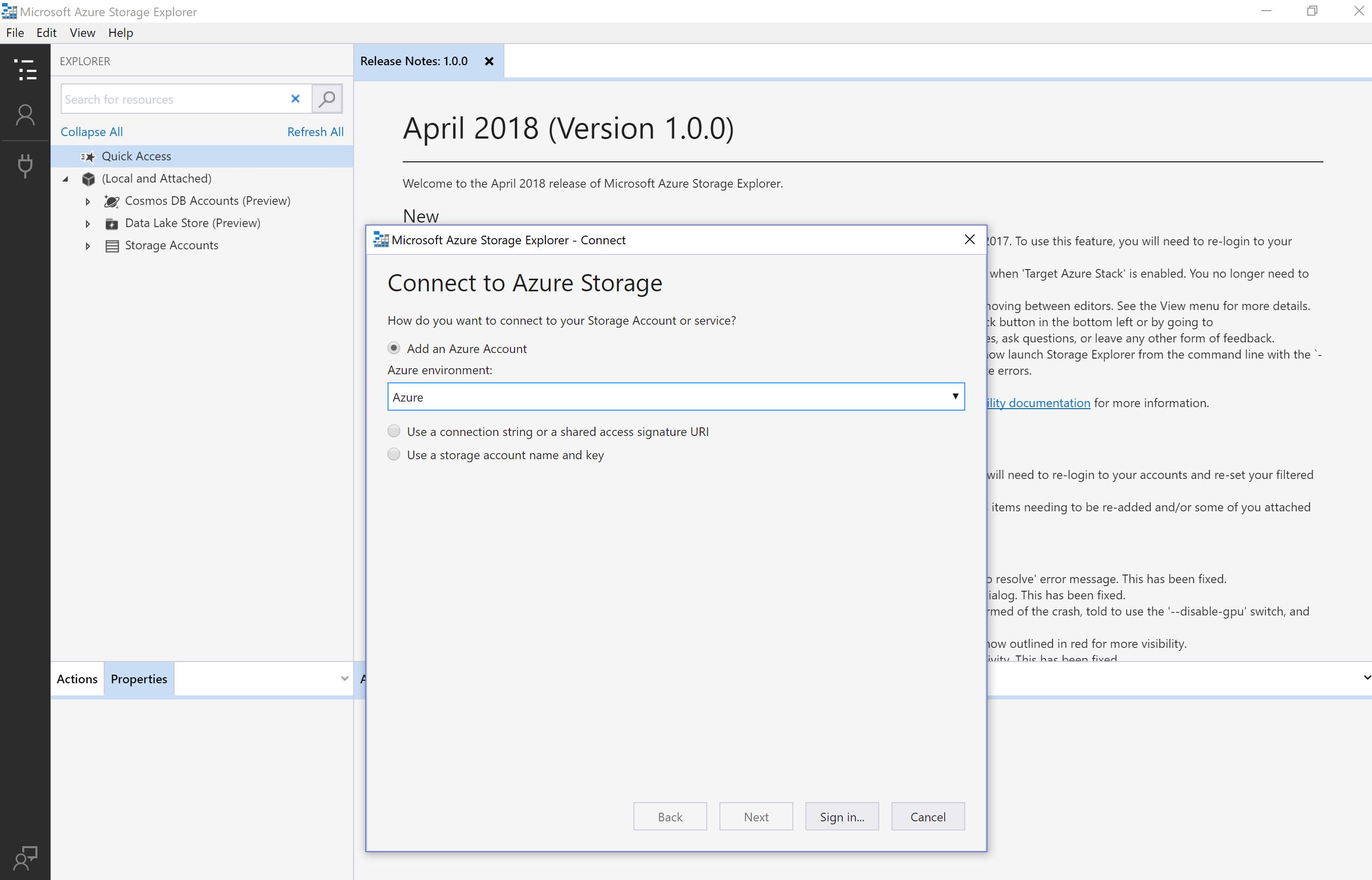 Microsoft Azure Storage Tools AzCopy and #Azure Storage