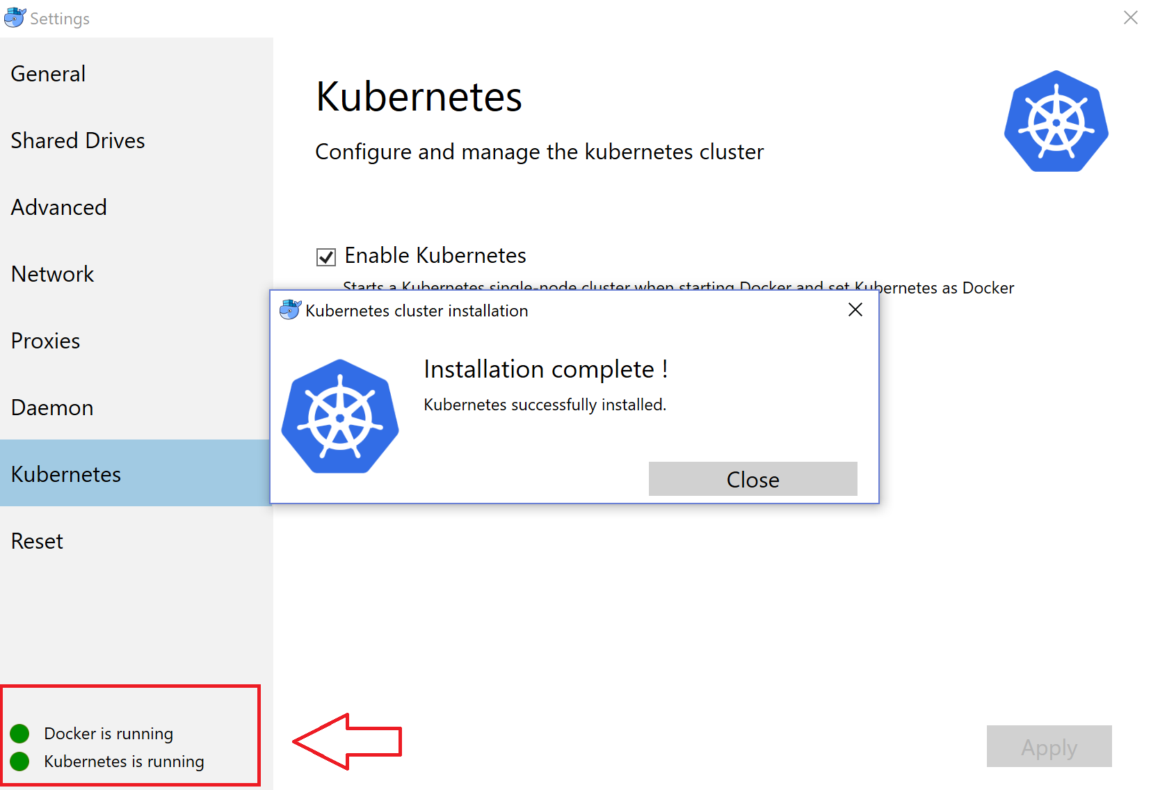 Deploying Containers on #Kubernetes Cluster in #Docker for Windows