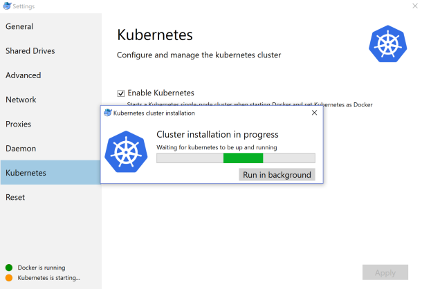 Deploying Containers on #Kubernetes Cluster in #Docker for Windows CE and on #Azure AKS