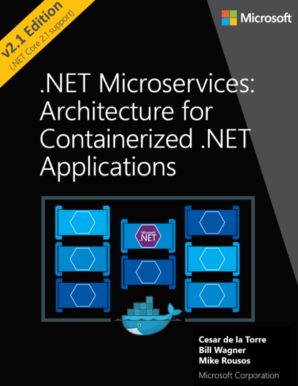A Great #Microservices E-book about Architecture for Containerized #dotnet Apps #Docker #Kubernetes #Containers