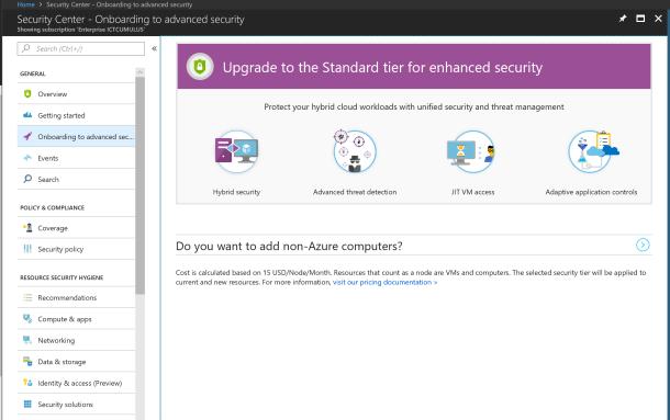 #Microsoft Azure #Security Center Standard for Hybrid Security #Azure #Cloud #SIEM