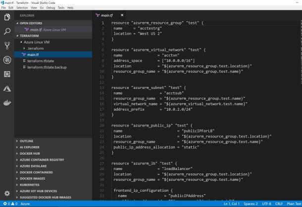 Creating VM Cluster on Azure #Cloud with Terraform #IaC #Azure