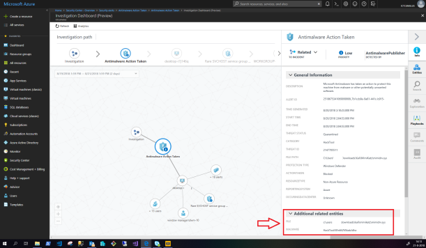 #Microsoft Azure Security Center Investigation Dashboard (Preview) #Azure #Security #ASC #Cloud