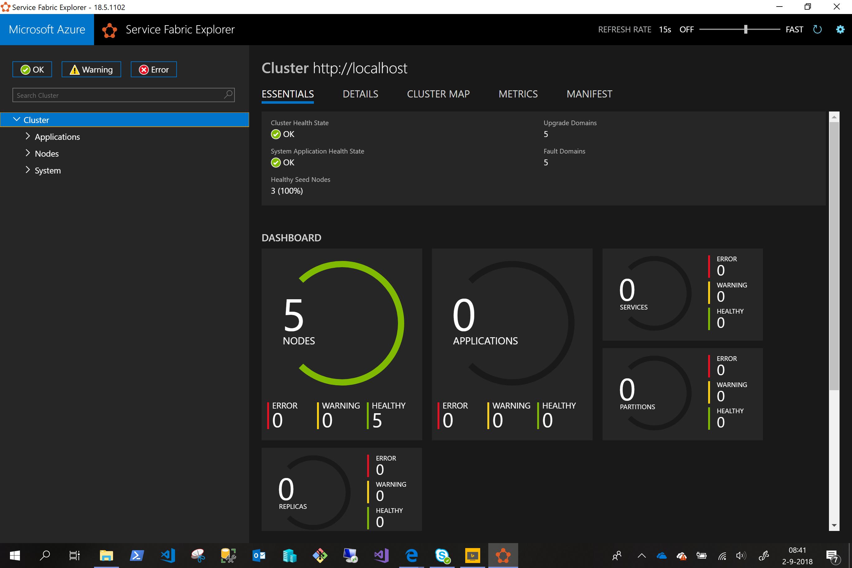 Installing #Azure Service Fabric Cluster on Windows Server