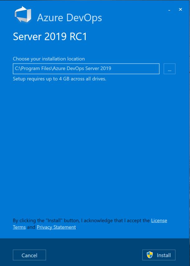 Installation of #AzureDevOps Server 2019 RC1 for your Team Work #DevOps #Winserv