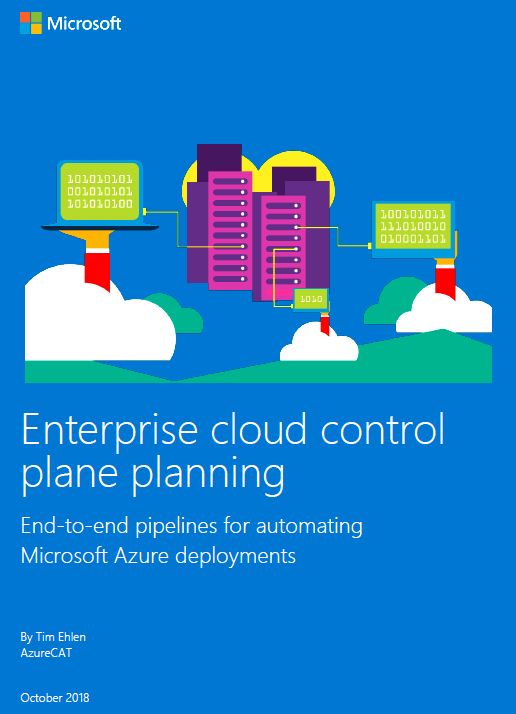 via @MSAzureCAT Enterprise #Cloud Control Plane Planning #AzureDevOps #Pipelines