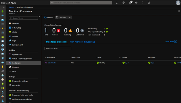 View Container Live logs with #Azure Monitoring #AKS #Kubernetes #Containers #AzureDevOps