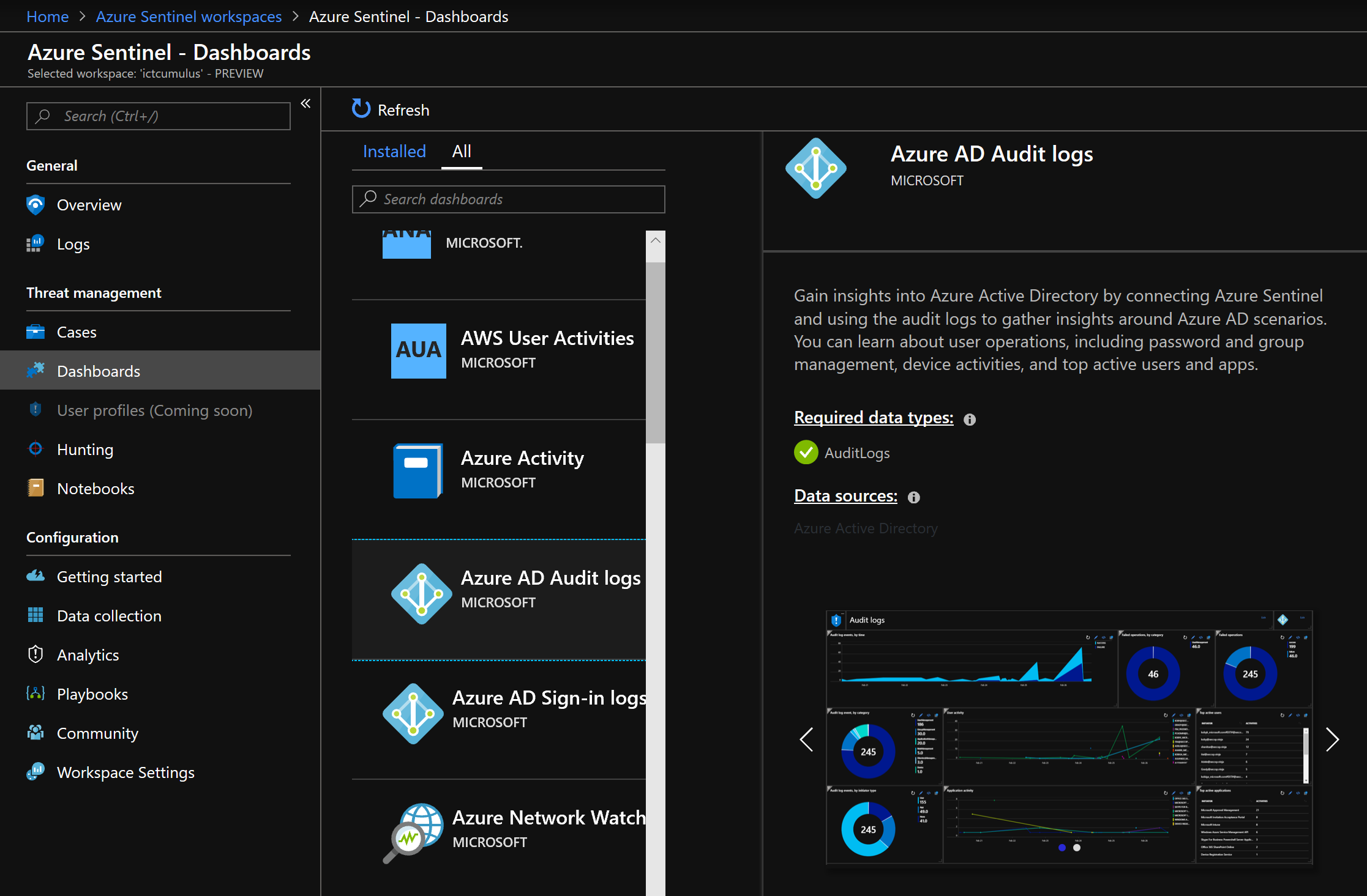 Microsoft Azure Sentinel (Preview) Overview #Azure #Sentinel