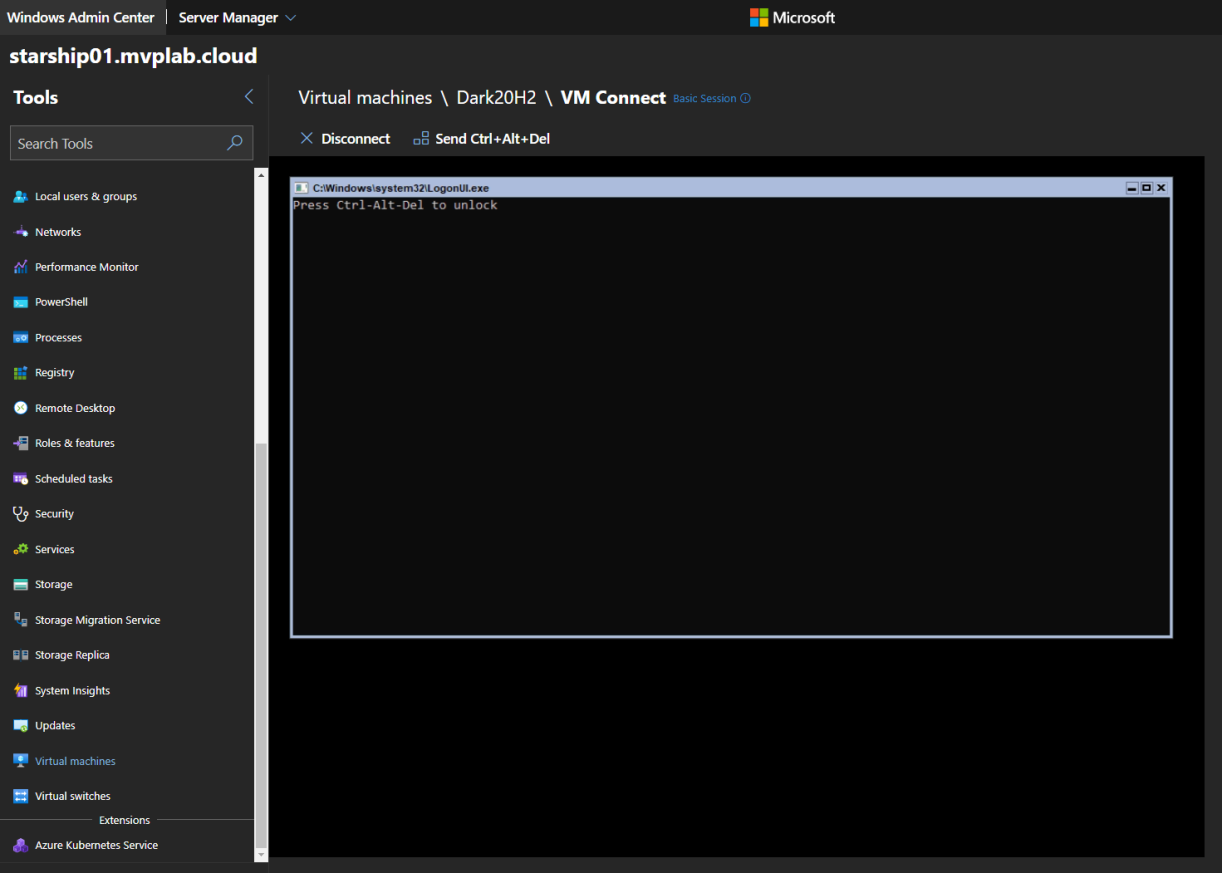#WindowsAdminCenter – Installing Windows Server version 20H2 Core Build 10.0.19042 #Winserv #HybridIT #Azure